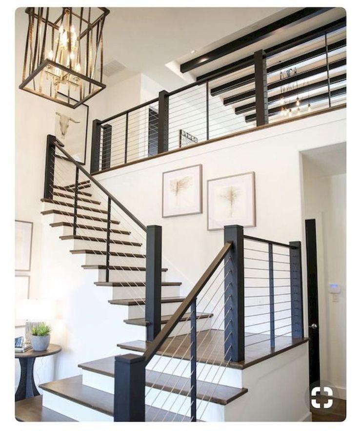 33 Ultimate Farmhouse Staircase Decor Ideas And Design - 33DECOR